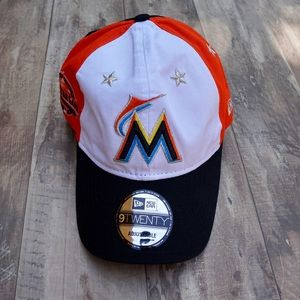 New Era ASG Patch Miami Marlins Adjustable Hat